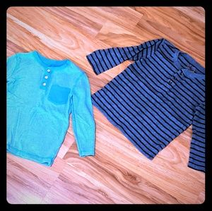 Set of Long sleeve thermal Tees, Size 4T